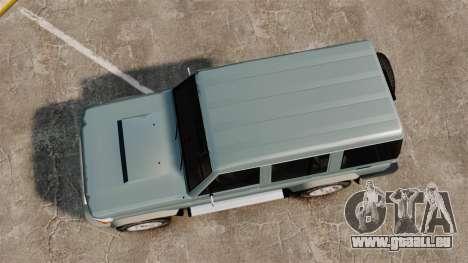 Toyota Land Cruiser 76 Wagon GXL 2010 für GTA 4 rechte Ansicht