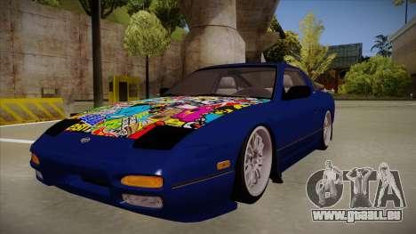 Nissan 240sx JDM style für GTA San Andreas