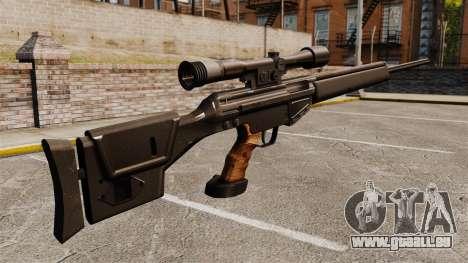 HK PSG10 Scharfschützengewehr für GTA 4 Sekunden Bildschirm