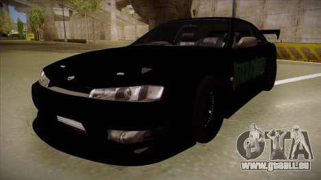 Nissan s14 200sx [WAD]HD pour GTA San Andreas