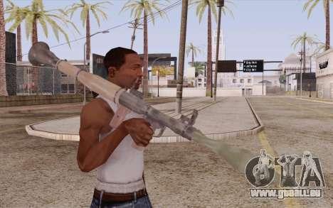 RPG pour GTA San Andreas