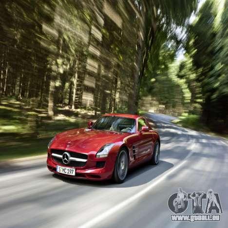 Écrans de chargement Mercedes-Benz pour GTA 4 cinquième écran