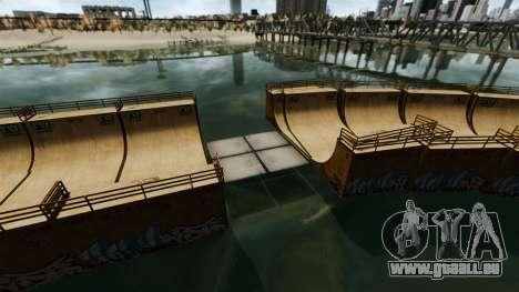 Zugbrücken für GTA 4 Sekunden Bildschirm