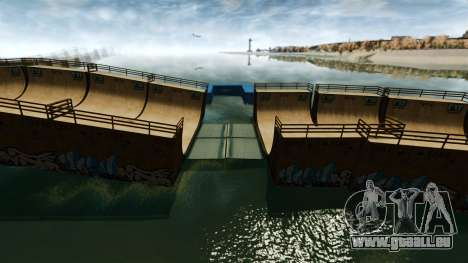 Ponts-levis pour GTA 4 troisième écran