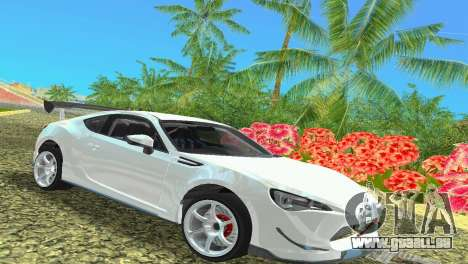 Subaru BRZ Type 4 für GTA Vice City