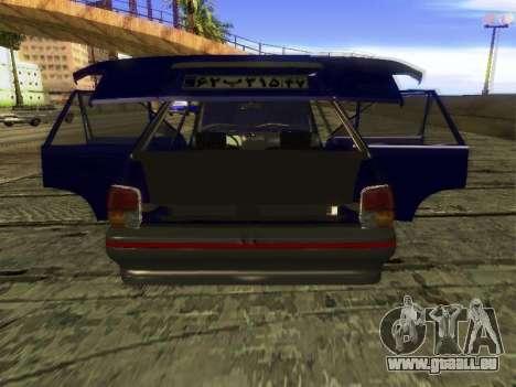 Kia Pride Hatchback für GTA San Andreas Seitenansicht