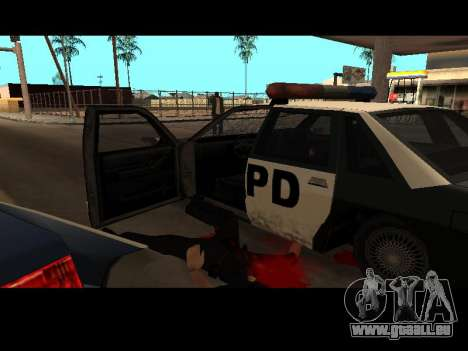 WeaponStyles pour GTA San Andreas deuxième écran