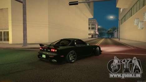 Mazda RX-7 STANCENATION für GTA San Andreas obere Ansicht