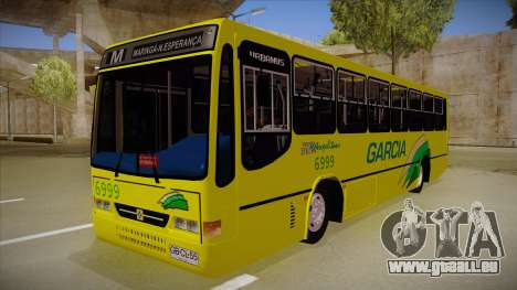 Busscar Urbanus SS Volvo B10 M garcia pour GTA San Andreas