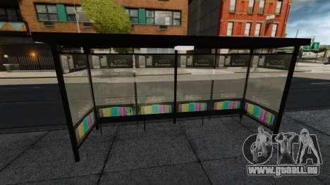 Neue Werbung an Bushaltestellen für GTA 4 dritte Screenshot