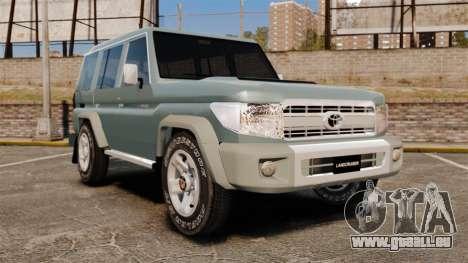 Toyota Land Cruiser 76 Wagon GXL 2010 pour GTA 4
