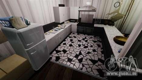 Stilvolles Apartment Bokhan für GTA 4 Sekunden Bildschirm