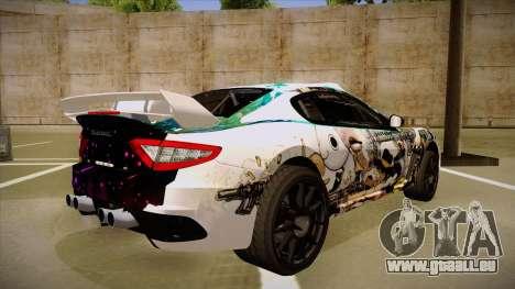 Maserati Gran Turismo MC 2009 pour GTA San Andreas vue de droite