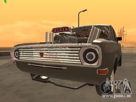 Gas-Drag-Ausgabe 24 für GTA San Andreas rechten Ansicht