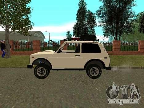 VAZ 21213 Niva für GTA San Andreas linke Ansicht