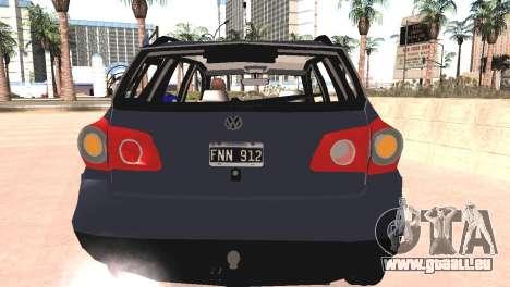 Volkswagen Suran für GTA San Andreas Rückansicht