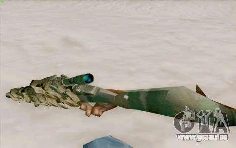 M21 pour GTA San Andreas troisième écran