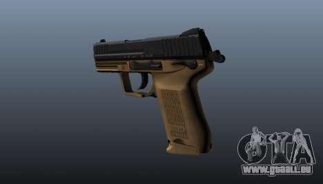 Pistole HK45C v3 für GTA 4 Sekunden Bildschirm