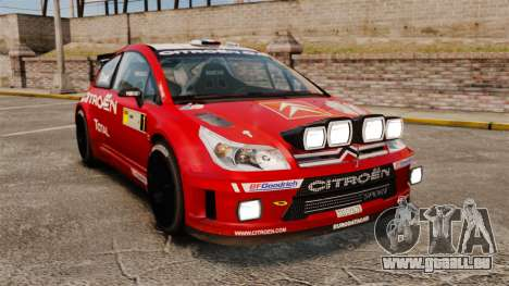 Citroen C4 WRC für GTA 4