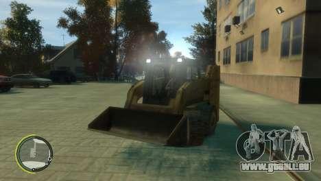 Chargeur de BF3 pour GTA 4 est une vue de l'intérieur