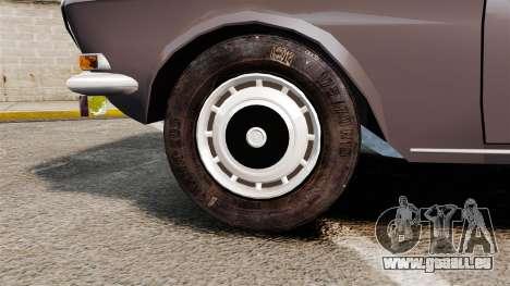 Volga gaz-2410 v2 pour GTA 4 Vue arrière