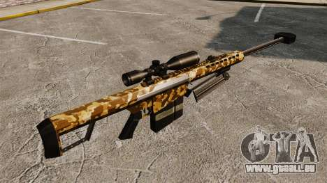 Le Barrett M82 sniper rifle v9 pour GTA 4 secondes d'écran