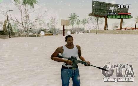 Die M4a1 für GTA San Andreas sechsten Screenshot