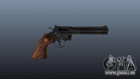 Revolver Colt Python 357 für GTA 4 dritte Screenshot