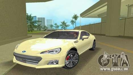 Subaru BRZ Type 1 pour GTA Vice City