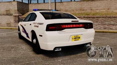 Dodge Charger 2013 AST [ELS] pour GTA 4 Vue arrière de la gauche