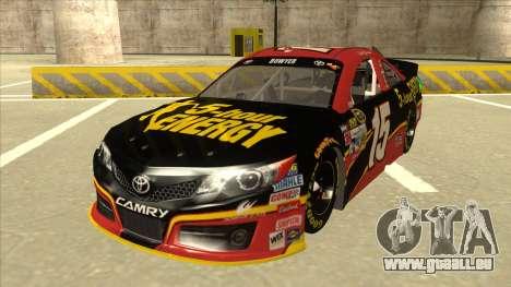 Toyota Camry NASCAR No. 15 5-hour Energy pour GTA San Andreas