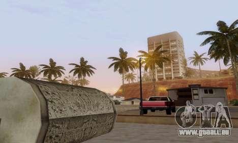 ENBSeries for low and medium PC pour GTA San Andreas quatrième écran