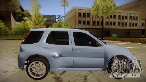Suzuki Ignis für GTA San Andreas zurück linke Ansicht