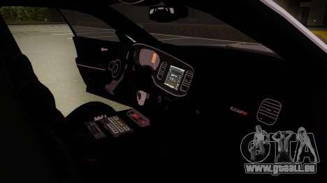 Dodge Charger SRT8 Policija für GTA San Andreas Innenansicht