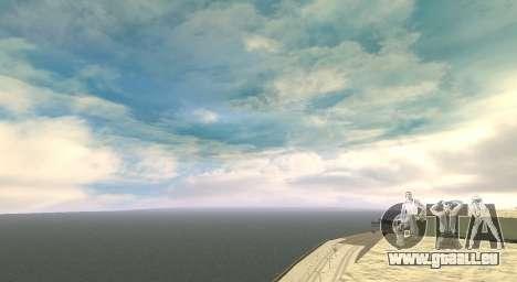 Cleo SkyBox pour GTA San Andreas troisième écran