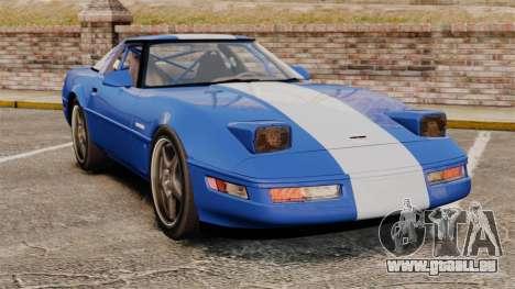 Chevrolet Corvette C4 1996 v2 pour GTA 4