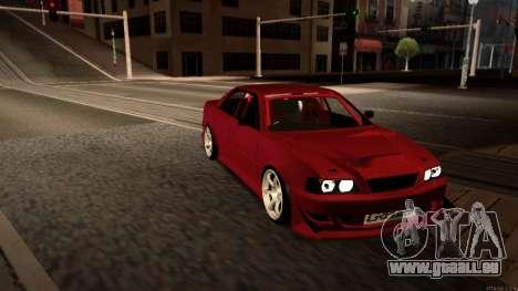 Toyota Chaser Tourer V pour GTA San Andreas vue intérieure