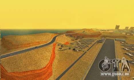 Hercules GTA V pour GTA San Andreas vue de droite