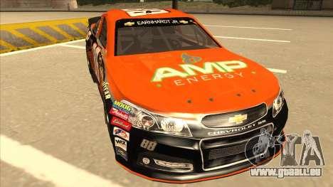 Chevrolet SS NASCAR No. 88 Amp Energy pour GTA San Andreas laissé vue