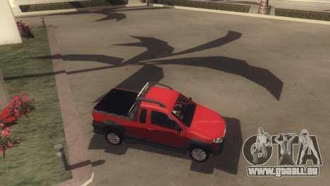 Fiat Strada Locker 2013 pour GTA San Andreas vue de côté
