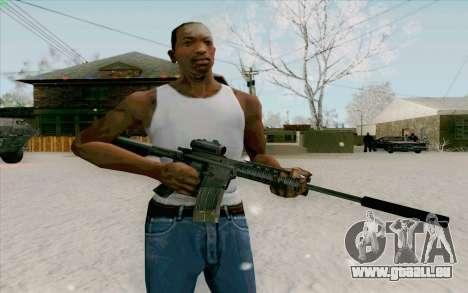 Die M4a1 für GTA San Andreas zweiten Screenshot