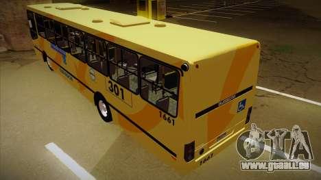 Busscar Urbanuss Ecoss MB OF 1722 M BHBUS für GTA San Andreas Rückansicht