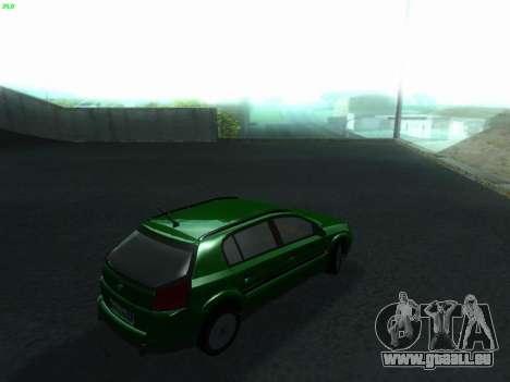 Opel Signum Kombi 1.9 CDi pour GTA San Andreas sur la vue arrière gauche