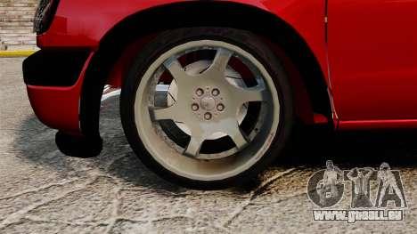 Nissan Frontier D22 pour GTA 4 Vue arrière