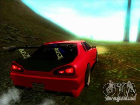 Elegy Drift Concept pour GTA San Andreas laissé vue