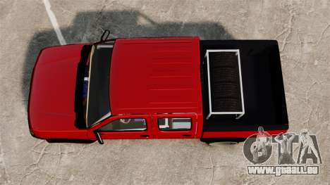 Nissan Frontier D22 pour GTA 4 est un droit