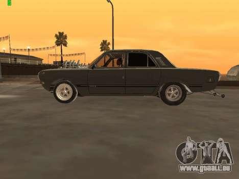 Gaz Drag Edition 24 pour GTA San Andreas laissé vue