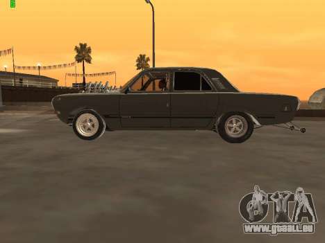 Gas-Drag-Ausgabe 24 für GTA San Andreas linke Ansicht