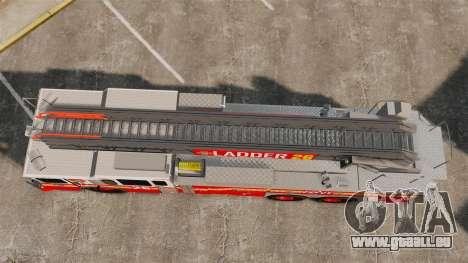 Ferrara 100 Aerial Ladder FDNY 2013 [ELS] pour GTA 4 est un droit
