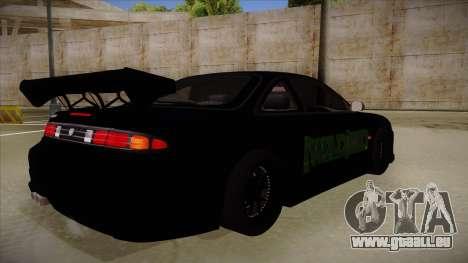 Nissan s14 200sx [WAD]HD pour GTA San Andreas vue de droite